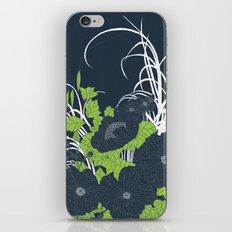Midnight Flowers iPhone Skin