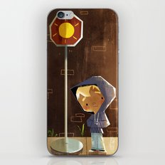 On The Sunny Side Of The Street iPhone Skin