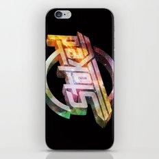 Stoked Cosmos iPhone & iPod Skin