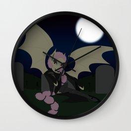 Vampire Shy Wall Clock