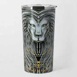 """Astrological Mechanism - Leo"" Travel Mug"