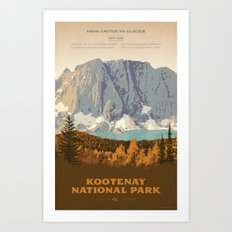 Kootenay National Park Art Print