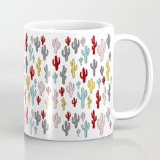 Colorful Cactus Pattern Mug