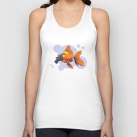 breathe Tank Tops featuring Breathe by rob art | simple