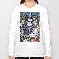 manhattan Long Sleeve T-shirts featuring Manhattan by John Turck