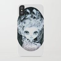 marie antoinette iPhone & iPod Cases featuring Marie Antoinette by ZELYSS
