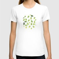 green pattern T-shirts featuring Green by zAcheR-fineT