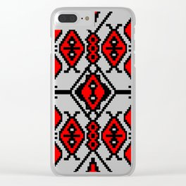 lullaby for ladybugs Clear iPhone Case