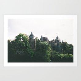 Boldt Castle Art Print