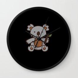 Cute Coala Bear Gift Wall Clock