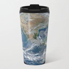 Blue Marble (North American) Metal Travel Mug