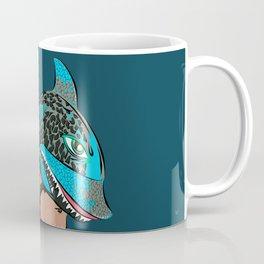The Shark Helmet Coffee Mug