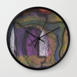 Bite Frustrations  Wall Clock