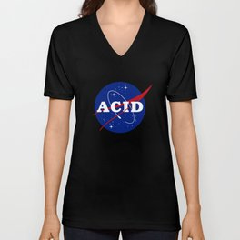 Acid Nasa Parody Unisex V-Neck