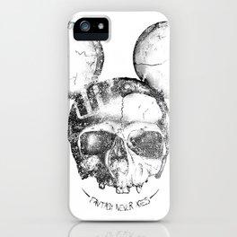 Mickey Skull iPhone Case
