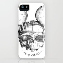 Mickey Skull iPhone Case
