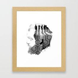 Stanley Kubrick Framed Art Print