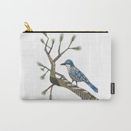 California Blue Jay Carry-All Pouch