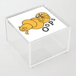 Oops Jake made a Booboo Acrylic Box