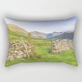 Ben Nevis Mountain Range Rectangular Pillow