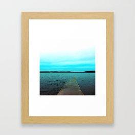 Dockside Framed Art Print