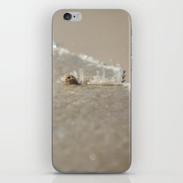 Seashell in the Waves iPhone Skin