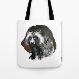 Totem  Racoon dog Tote Bag