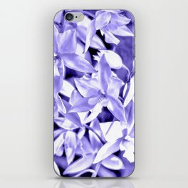 Cascading orchids - Violet iPhone Skin