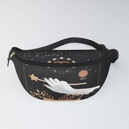 Aries Zodiac Sign Fanny Pack