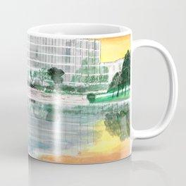Ergon On Mirror Lake Coffee Mug