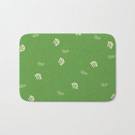 Virgo Pattern - Green Bath Mat