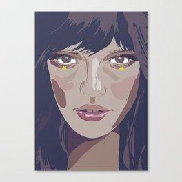 I am and I am not (Vacancy Zine) Canvas Print