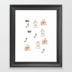 Fashionista  Framed Art Print