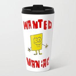 Wanted Maniac Travel Mug