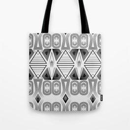 "Art Deco. ""Black and light gray"" 28 . Tote Bag"