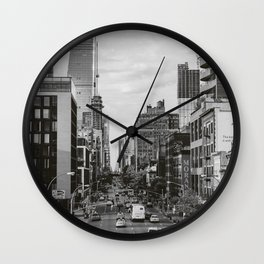 Highline View II Wall Clock