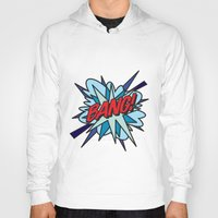 comic book Hoodies featuring Comic Book BANG! by Thisisnotme