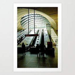 Way out to light - London Fine Arts Travel Photography Art Print