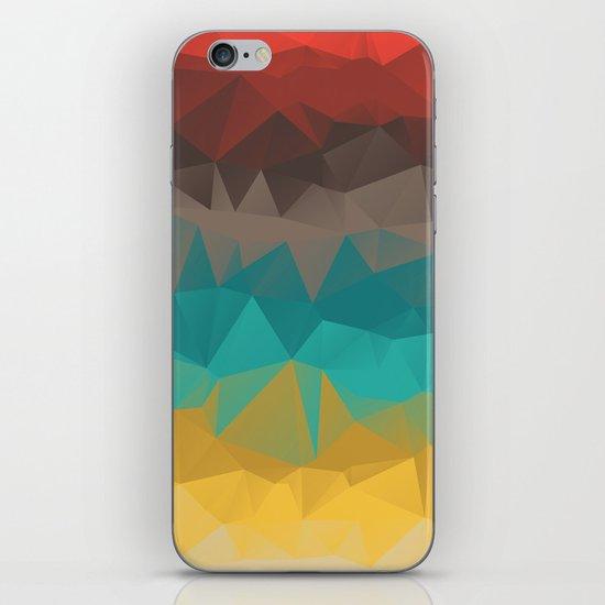Tricolors iPhone & iPod Skin