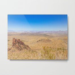 Oak Springs Trail, Big Bend National Park - Texas Metal Print