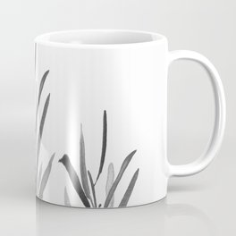 Eucalyptus Branches Black And White Coffee Mug