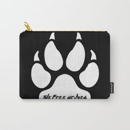 White Paw [Black] Carry-All Pouch