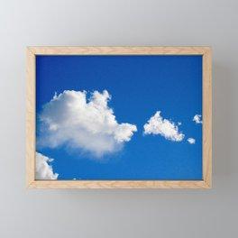 Cloud Watching Framed Mini Art Print