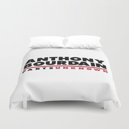 ANTHONY BOURDAIN - PARTS UNKNOWN Duvet Cover