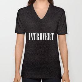 Introvert Unisex V-Neck