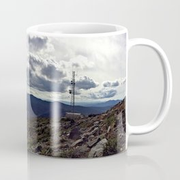 Peak of Sugarloaf Mountain in Carrabassett Valley, Maine Coffee Mug