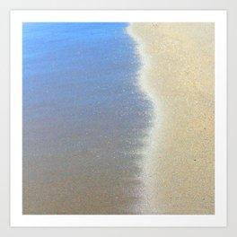 quicksand (thank you bowie) Art Print