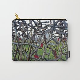 Metal Bushes Carry-All Pouch