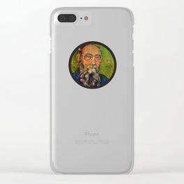 David K Lewis Clear iPhone Case