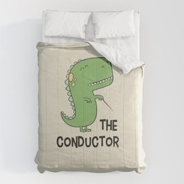 Dino The Conductor Comforters